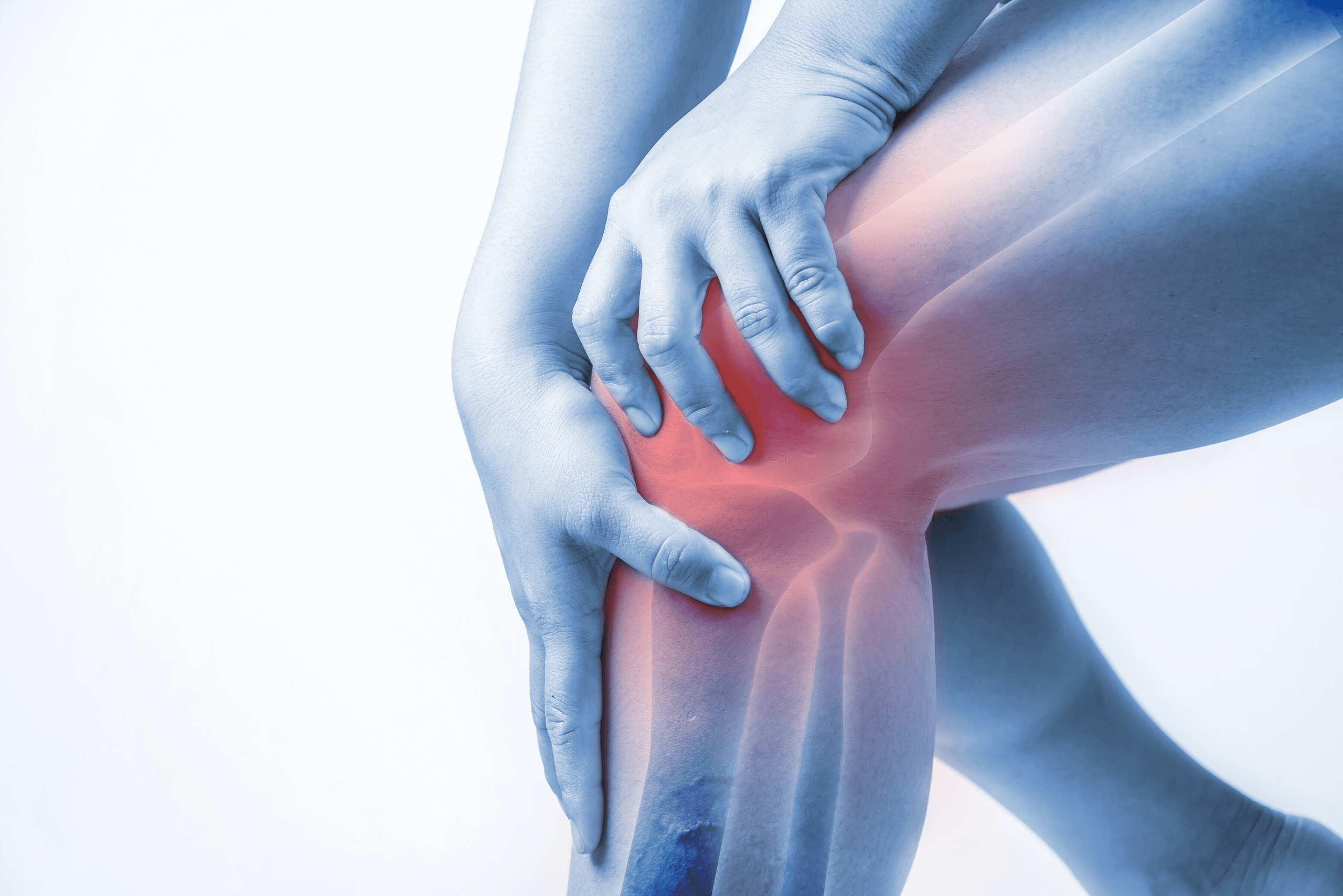 Rendering of Joint Pain in the Knee